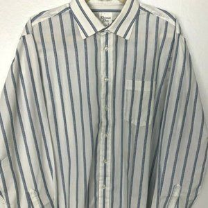 CHRISTIAN DIOR Men's Button Up Dress Shirt sz 16.5